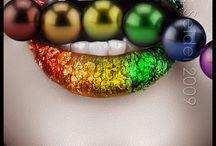 Glitter inspiration - rainbow