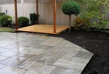 Stone for front patio / by Ashley Jordan