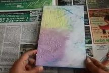 TIPS EN VIDEO ART JOURNALING / by El Baúl de Andrea