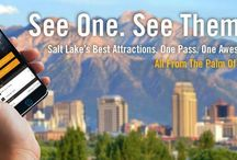 Connect Pass / The Visit Salt Lake Connect Pass is your golden ticket to good times in Salt Lake. By bundling some of the city's best attractions, this all-in-one pass is a great deal on a fun-filled itinerary for you and your family. / by Visit Salt Lake