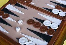backgammon cake