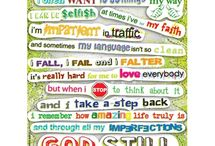 Inspiration for Everyday Living / Inspiring verses, lyrics, quotes, and images