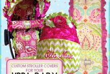 Fancy Stroller Covers / Fancy stroller covers, over the top stroller designs.