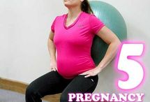 Pregnancy Fitness / After Baby Fitness / my short list of exercises for moms to be and post baby fitness to get your body back