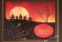 Grußkarten: Halloween
