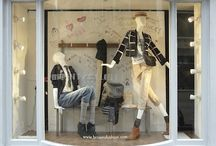 BROWNS / Props Studios collaborated with Browns to create their Back to School windows ready for London Fashion Week and a launch event with Vogue.