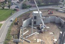 Area ex Orly / Progetto strutture in cemento armato e direzione lavori.