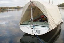 Dinghy Boat Covers / Overnight protection for cruising sailors.