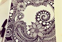Zen Art / Zen art, doodling, mandalas