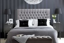 Black and white classic home decor / Dream house
