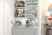 Barmoire makeover