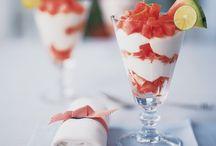 Dessert. glass