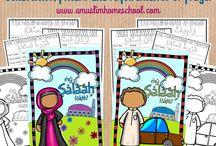 Islamic worksheet preschool