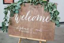 Inspiration | Wedding Signs