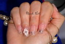 My nails! / By Marcela!