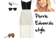 Fashion idols / Perrie Edwards, Ashley Olsen, Eleanor Calder, Emma Watson