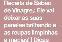 Sabão dd vinagre