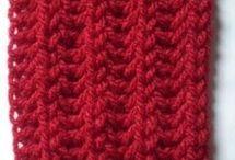 cachecóis em trico