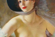 Maria Szantho (1897-1997) / Pittrice Ungherese