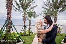 Water's Edge - Weddings / All photos are of real couples taken by Stacy Anderson Photography at Water's Edge in Seabrook, Tx