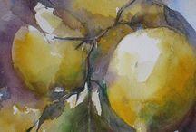 Owoce i warzywa w malarstwie