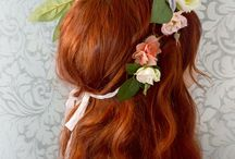 DIY Hair Accessories / Get inspired with this DIY hair accessories and hair tutorials!