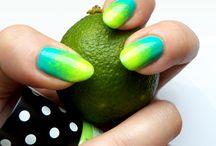 Ombre nails / I love ombre <3