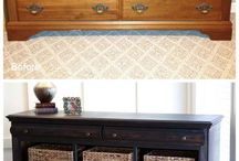 HOME: furniture makeovers / by Kimberly Rose