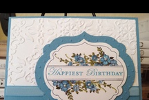 Apothecary Art Card Ideas / by Laurie Graham: Avon Rep/Stampin' Up! Demo