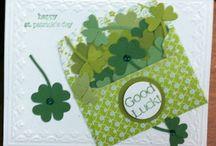St Patricks / Green cards