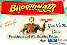 Bhoothnath Returns Contest / Watch the movie, say which Linc Pen has been used by Amitabh Bacchan In the movie to fight against Corruption
