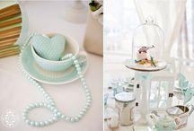 Mint Wedding / Decoração de casamento by Visi Vici
