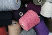 Natural Yarns / A selection of natural fibre yarns available online at our website  www.wools.co.uk