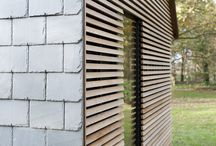 Wood meets slate