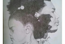 Alyrical Art / Legally blind artist working with God's grace!!!