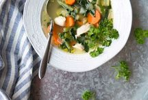 Soups, Stocks, & Broths / Nourishing soup, stock, and broth recipes for all seasons.