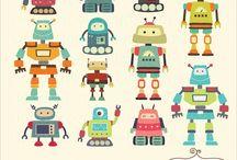 Robots cohetes indios y otros