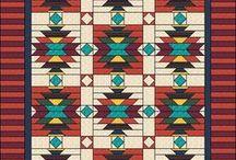 Индейские узоры