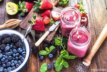 Shake, juice - mood board