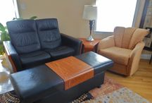 4/11/15 Waltham Estate Sale / This gem of an estate sale features modern and contemporary furniture, rugs and decor, all in pristine condition!  In addition there will be exercise equipment, golf accessories and collectible and high end clothing for sale.