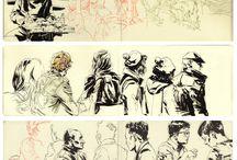 Sketchbooks (Moleskine and other)