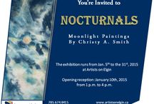 2015 Monthly Exhibitions / Photographs from the 2015 exhibitions at Artists on Elgin/The Northern Artist Gallery.