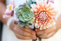 Harborside Wedding / Sand, moss, driftwood, succulents, candles, bright pops of colors from other flowers are all elements I'm trying to incorporate into the wedding / by Jamie Scarbro