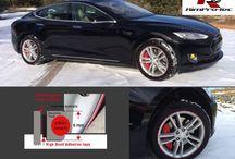Celebrities-Accessorize-Their-Tesla. /  http://evannex.com/blogs/news/16908148-celebrities-accessorize-their-tesla-model-s