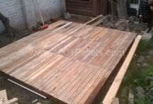 uses of pallets for my son-inlaw