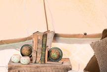 Cabin Fever tent decor / Luxury camping interiors