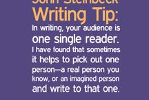 Tips for authors / Writing tips for all of us who aspire to write something worth reading.
