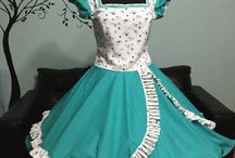vestido huasa