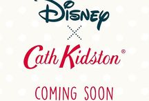 Disney x Cath Kidston / A collaborative collection between Disney and UK modern vintage retailer Cath Kidston. launching September 26th, 2016.