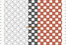 macrame y punto cruz